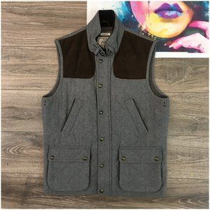 Jos A Bank 1905 Tweed Wool Herringbone Vest